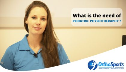 need for Pediatric Physiotherapy